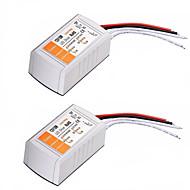 2PCSAC 110-240V to DC 12V 18W LED Voltage Converter