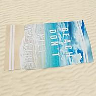 StrandhåndkleReaktivt Trykk Høy kvalitet 100% Mikro Fiber Håndkle