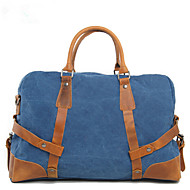 Men Travel Bag Canvas Casual Outdoor Gray Green Blue