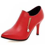 Women's Shoes Boots Spring/Fall/Winter Heels/Bootie/Pointed Toe Office Career/Party Evening/Casual Stiletto Heel