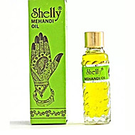 Shelly mehndi aceite mehandi henna para oscurecer la henna - pintura corporal en el kit de tatuajes