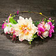 נשים קצף כיסוי ראש-חתונה זרי פרחים חלק 1