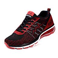 Unisex Sneakers Spring / Fall Comfort Tulle Casual Flat Heel  Black / Blue / Purple / Red Walking