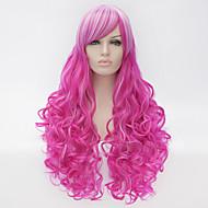 cosplay peruca vento lolita lolita multi cor gradiente peruca peruca diária perucas sintéticas