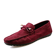 Men's Shoes Casual Loafers Black / Khaki /Red