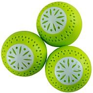 3PCs Fruits Vegetable Fresh Odor Absorb Refrigerator Fridgeballs Home Lover
