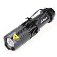 Lights LED Flashlights/Torch / Handheld Flashlights/Torch Laser 1000(lumens) Lumens 3 Mode - / LED 18650 WaterproofCamping/Hiking/Caving