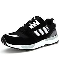 נשים-נעלי ספורט-סוויד / טול-נוחות-כחול / סגול / שחור ולבן-ספורט-עקב שטוח