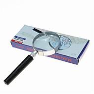 虫眼鏡 一般用途向け / 読書 ジェネリック / HD / ポータブル 7X 50mm 標準 プラスチック / 金属