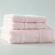 Disconnect Jacquard Bamboo Bamboo Fiber Customized Set Of Towels