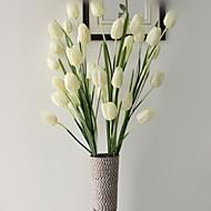 1 1 ענף פוליאסטר / פלסטיק צבעונים פרחים לשולחן פרחים מלאכותיים 41.3inch/105cm