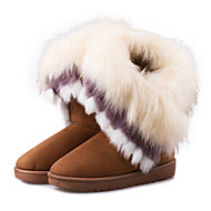 Women's Boots Fall / Winter Snow Boots Leatherette Outdoor / Casual Flat Heel Others  Pink Snow Boots