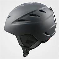 Unisex Helm M: 55-58cm / L: 58-61cm Sport Extraleicht(UL) Befestigt 14 ASTM F 2040 Schnee Sport / Ski Weiß / Schwarz PC / EPS