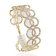 Armbånd Kæde & Lænkearmbånd Legering Circle Shape Mode Bryllup / Party / Daglig / Afslappet Smykker Gave Gylden / Sølv,1pc