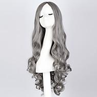 """Moda długie kręcone przydymiony WIG 28 """"długie kręcone włosy perukę syntetyczną niebieski anime cosplay wig włosów dla kobiet"""