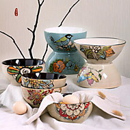 "6"" Hand-painted Ceramic Bowl Characteristics of Personality (Random Style)"