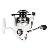 Molinetes Rotativos 5.2:1 13 Rolamentos TrocávelIsco de Arremesso / Pesca no Gelo / Rotação / Pesca de Água Doce / Pesca de Carpa / Pesca
