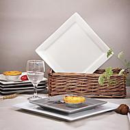 western-style porcelánové nádobí smluvně keramická čtvercová deska