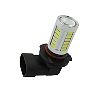 2pçs escondeu branco h11 h8 33-5730-SMD LED substituir as lâmpadas de luzes diurnas carro nevoeiro 12-24V