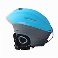 Unisex Helm L: 58-61cm Sport Extraleicht(UL) Befestigt 14 ASTM F 2040 Schnee Sport / Ski Blau PC / EPS