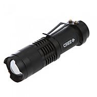 Osvětlení LED svítilny Svítilny do ruky LED 350 Lumenů 3 Režim Cree Q5 14500 AANastavitelné zaostřování Odolný proti nárazům