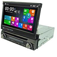 1 대시에 GPS 네비게이션 라디오 7 ''자동차 DVD 플레이어 딘 내장 된 3 세대 무선 랜 SWC USB / SD BT는