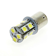10PCS 주차 후방 꼬리 회전 신호 전구 램프 자동차 자동차 전구 12V를 주도 1156 5050 화이트 색상은 브레이크 주도 13smd