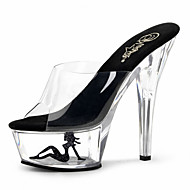 15cm  Summer / Fall sexy Crystal Heels Transparent / Slippers Party & Evening / Casual Stiletto Heel Crystal / Others / Crystal Heel