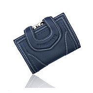 Women Wallet Genuine Leather Female Wallets 3 Fold Purse Clutches
