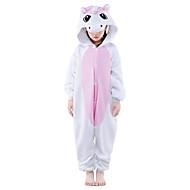 Kigurumi Pyjama  nieuwe Cosplay® / Unicorn Gympak/Onesie Festival/Feestdagen Animal Nachtkleding Halloween Roze Patchwork Fleece Kigurumi