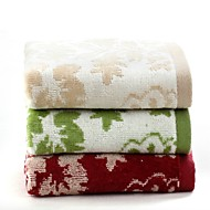 """1 PC Full Cotton Thickening Hand Towel 13"""" by 30"""" Super Soft Floral Pattern"""
