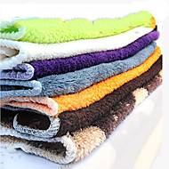 Oil Proof Rag pure color Easy Cleaning Cloth Tools,Textile(Random Colour)