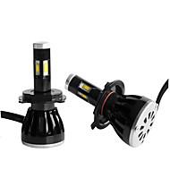 2pcs 2010-2013year 5000lm foco levou h4 do sinal de luzes levou kit farol H4 médios levou kit de farol