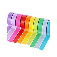 10st Kleurrijke Afplaktape