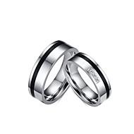 Anéis Borlas / Fashion / Vintage Casamento / Pesta / Diário / Casual Jóias Aço Inoxidável / Zircônia Cubica Feminino / Masculino / Casal