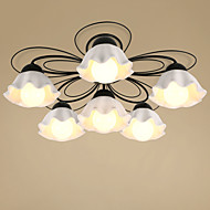 5 Flush Mount   Traditional/Classic Painting Feature for Mini Style Metal Living Room / Bedroom / Dining Room