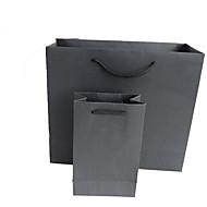 Packpapierbeutel Kosmetiktasche Geschenktüte Papiertüte gedrucktes Logo vor Ort maßgeschneiderte Werbepaket kann ein fünf