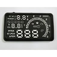 HUD-Anzeige Auto HUD Head Up Display Auto hud Carstyling Beschleunigung Warnsystem gute Qualität 5,5 Zoll obd2 Schnittstelle