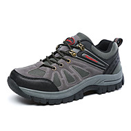 Men's Athletic Shoes Winter Comfort Leather Outdoor / Athletic / Casual Flat Heel Others Green / Gray / Khaki Hiking