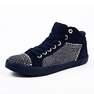 Women's Sneakers Spring / Summer / Fall / Winter Comfort / Round Toe PU / Fabric Outdoor / Office & Career