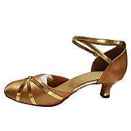 Dansesko(Sort Blå Rød Guld Øvrigt) -Kan ikke tilpasses-Cubanske hæle-Damer-Moderne Ballet