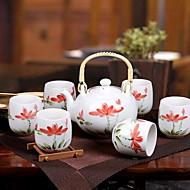 סגנון חם של ערכת תה קרמיקה Jingdezhen