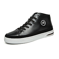 Men's Fashion Shoes EU38-44 Middle-top Casual/Travel/Youth Breathable Microfibre Board Shoes