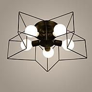 5 Montage de Flujo ,  Tradicional/Clásico Pintura Característica for Mini Estilo Metal Sala de estar / Dormitorio / Comedor