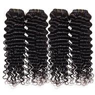 3 Pièces Ondulation profonde Tissages de cheveux humains Cheveux Brésiliens Tissages de cheveux humains Ondulation profonde