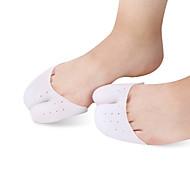 סיליקון ל מדרסים מדרס הנעל הזה מגן על כרית הרגל. לבן