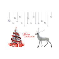 Animais / Botânico / Natal Wall Stickers Autocolantes de Aviões para Parede Autocolantes de Parede Decorativos / Autocolantes de Medição,