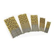 kerek szárú csigafúró bit (1,0mm 1,5mm 2,0mm 2,5mm 3,0mm és mindegyik modell 10pieces totle 50 darab)