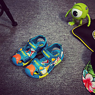 Boy's Sandals Summer Slingback Leatherette Casual Flat Heel Others Blue / Green / Royal Blue Others