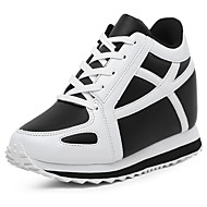 Women's Sneakers Spring / Summer / Fall / Winter Wedges / Creepers Leatherette  / Casual Wedge Heel Lace-up